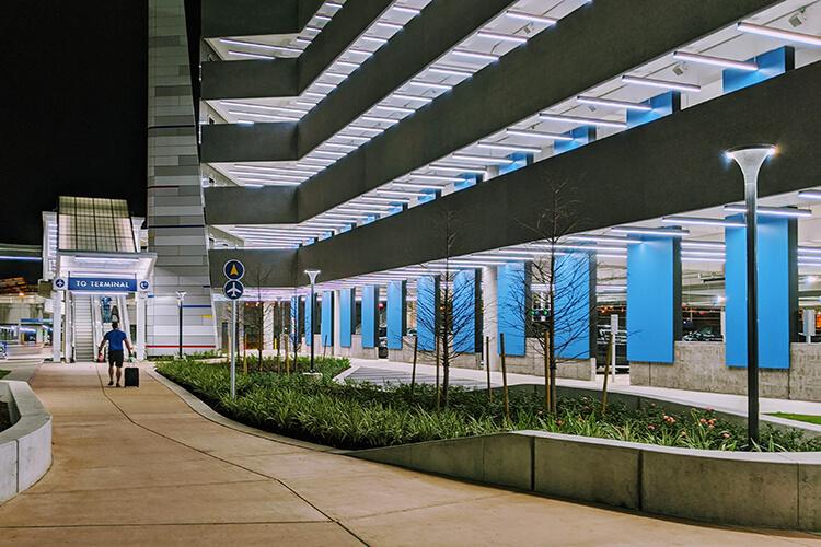 aus-blue-parking-garage